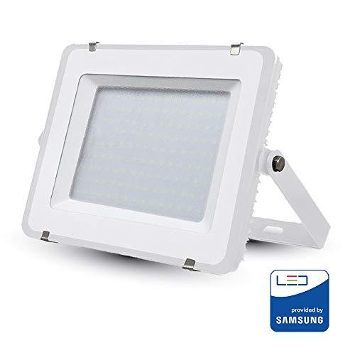 Koplamp LED 150W, Slim Aluminium Wit Chip Samsung Smd koud wit 6400K
