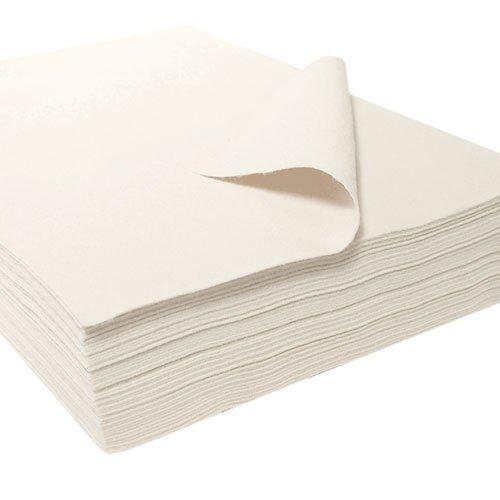 Filzzuschnitte, Synthetik, weiß, ca. 22 x 30 cm - 26 Stück, Filz, Filz