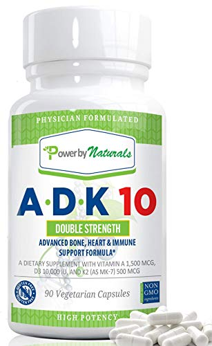 Power By Naturals ADK 10 Vitamin