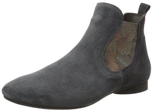 Think! Damen Guad_181295 Chelsea Boots, Grau (Vulcano/Kombi 21), 38 EU