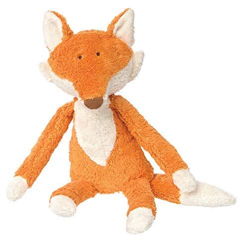 Sigikid Sigikid38781 Mädchen und Jungen, Stofftier Fuchs, Babyspielzeug, Kuscheltier, empfohlen ab 0 Monaten, orange, 38781