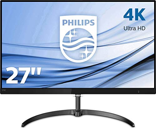 "Philips 276E8VJSB Monitor 27"" (68,6 cm), IPS 4K UHD (3840 x 2160), 2 HDMI, Display Port, Nero"