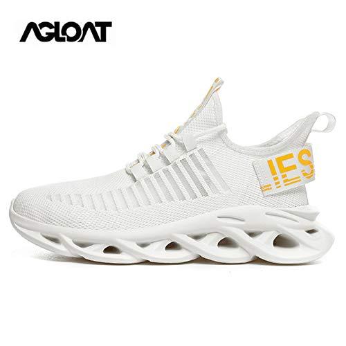 Zapatos,Zapatos Deportivos Mujer,Zapatos Deportivos Hombre,Running,Zapatos Hombre Vestir Casual Deportivas Transpirables,White-39