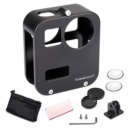 Forevercam Coque de Protection en Aluminium Compatible avec Gopro Max, Gopro Max 360 Accessoires avec Film Protecteur d'objectif