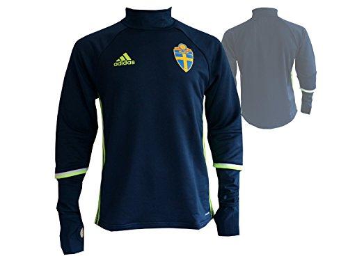 adidas Herren Schweden Trainingsoberteil - blau Trikot, Conavy/SYELLO, 2XL