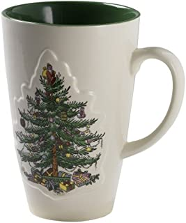 Spode Christmas Tree Color Glaze 22-Ounce Mug