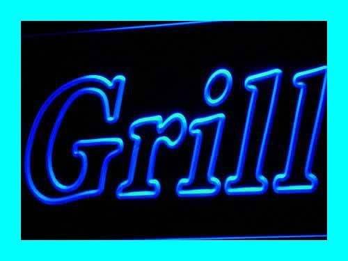 ADVPRO i440-b Grill Open Bar Pub BBQ New NR Neon Light Sign Barlicht Neonlicht Lichtwerbung