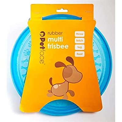 Toyz by Petface Rubber Frisbee Dog Toy - colours may vary