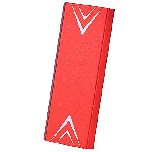 Disco duro externo portátil 1 TB 2 TB 4,2 TB Slim External Hard Drive USB 2.0 Compatible con PC, portátil y Mac (2TB-D Red)