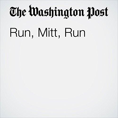 Run, Mitt, Run copertina