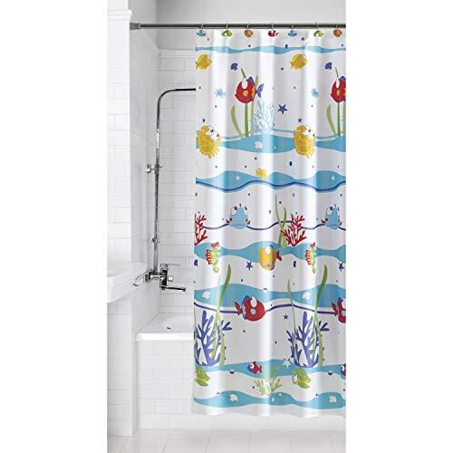 Mainstays Something's Fishy Shower Curtain