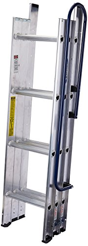 WERNER LADDER AA1510CA Al Attic Ladder, 7' - 9'10""