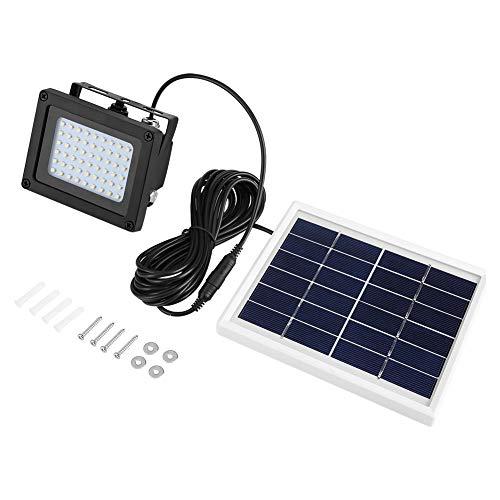 Joycelzen Solar Sicherheitsleuchten Außen, hell wasserdichte LED Solarleuchten mit 54 LED-Sensor für Garten, Wearhouse, Garage, Hof, 4000mAh