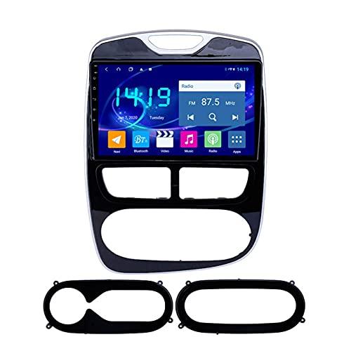 Radio estéreo de coche Android 9.1 ocho núcleos 9 pulgadas Sat Nav para Renault Clio 2012-2016 con navegación GPS Bluetooth pantalla táctil WiFi cámara de respaldo reproductor multimedia 4 GB+64 GB