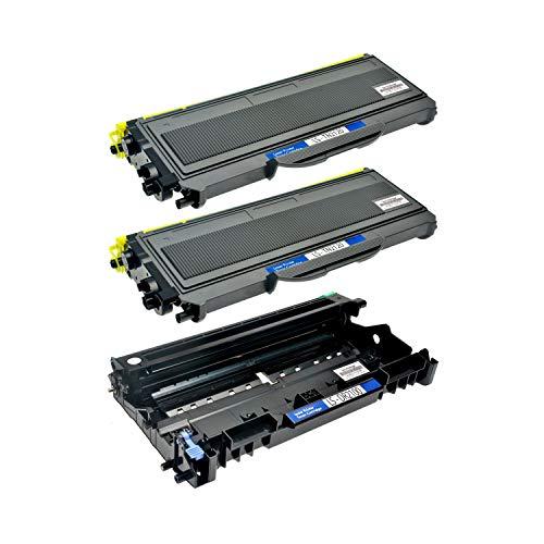 Logic-Seek 2 Toner + Trommel kompatibel für Brother TN-2120 XL DR2100 DCP-7030 7040 N HL-2140 2150 2170 N NR W WR MFC-7340 7320 7440 7840 W N