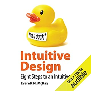 Intuitive Design audiobook cover art