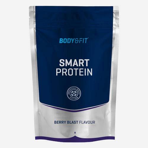 Body&Fit Smart Protein Batido de frutas del bosque 750 gramos (26 batidos)