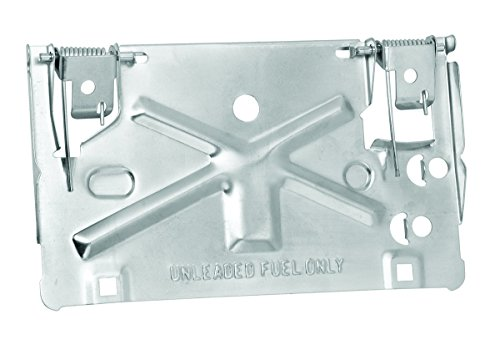 Draw-Tite 49802 Fold Down License Plate Holder, Silver
