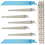Saxton RPR10MXD Scie sabre sabre à 10 lames pour bois et métal Compatible avec...