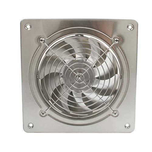 JYDQM Ventilador de Escape de Alta Velocidad de 6 Pulgadas 45w 220v, Inodoro, Cocina, baño, Pared Colgante, Ventana, Ventilador, extractores de Aire, Ventiladores de 6 Pulgadas