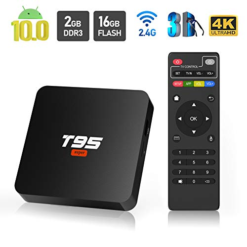Android 10.0 TV Box, Sidiwen T95 Super Android Box Allwinner H3...