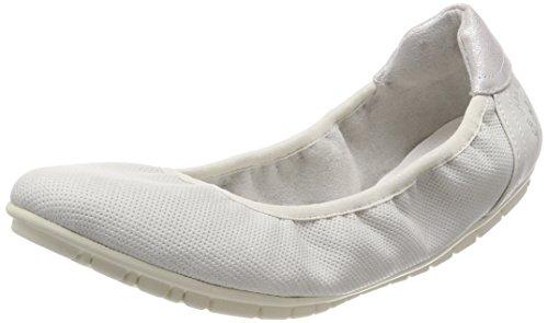 s.Oliver Damen 22119 Geschlossene Ballerinas, Grau (Lt Grey), 39 EU
