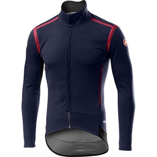 CASTELLI Perfetto Ros Long Sleeve - Chaqueta Deportiva para Hombre, Color Azul, Talla L