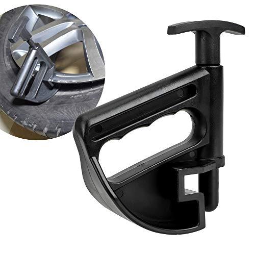 Felgenklemme Adapter Schwarz Auto Reifenmontiermaschine Wulstklemme Reifen Maschine Wulstdrücken Auto Repair Tool Stemmrad Ändern Helfer