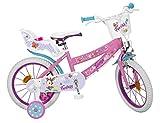 Toimsa16227 - Bicicletta da 16' Fantasy Walk 5-8 anni, multicolore