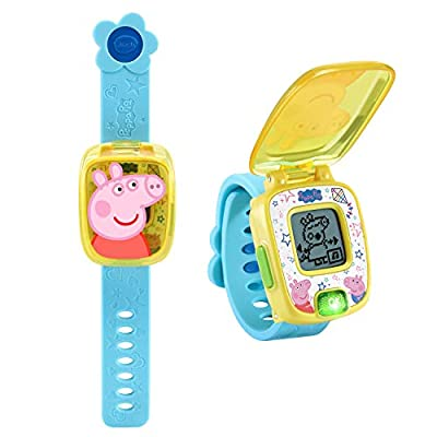 VTech Peppa Pig Learning Watch, Blue, Great Gift for Kids, Toddlers from Vtech