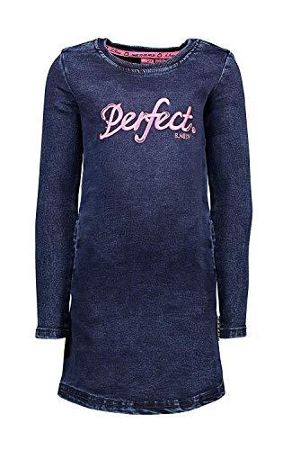 B.Nosy Teens meisjes jeansjurk lange mouwen Ink Blue Denim Y908-5825-180