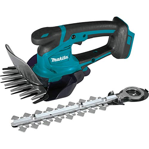 Fantastic Prices! Makita XMU04ZX Lithium-Ion Cordless, Tool Only 18V LXT Grass Shear with Hedge Trimmer Blade, Teal