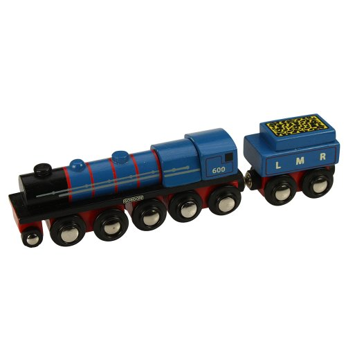 Bigjigs Rail Collection Patrimoine Locomotive Gordon