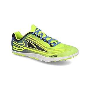 ALTRA Men's AL0A3621 Golden Spike Running Shoe, Lime/Blue - 7.5 M US