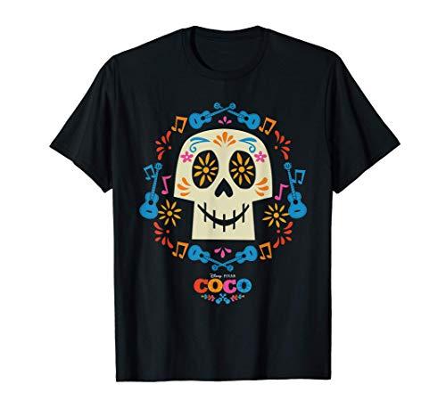 Disney and Pixar's Coco Papel Picado Sugar Skull Camiseta