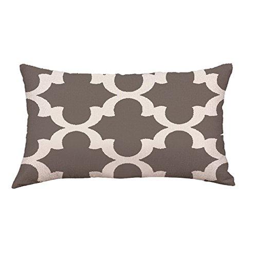 ExpertS Pillow Case Funda de Almohada líneas geométricas para Dormitorio, Sala de Estar, Cama, Festival, Funda de Almohada