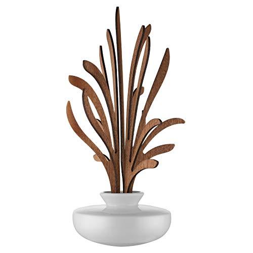 profumatore per ambienti design bastoncini Alessi The Five Season MW64 4S W - Diffusore a Foglie per Ambiente in Porcellana