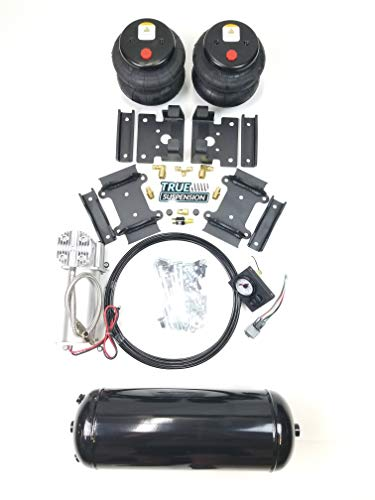 TS - Compatible with Dodge 3500 4wd Pickup Truck 14-21 Towing Assist Air Ride Suspension Kit Complete With Air Management Control