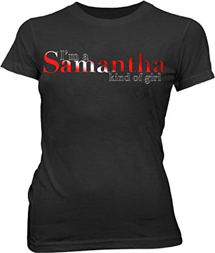 Sex And The City I'M A Samantha schwarz Junior T-Shirt S