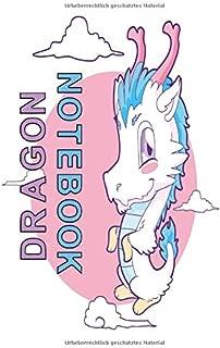 Notizbuch Dragon: Notizbuch 120 linierte Seiten Din A5 perfekt als Notizheft, Tagebuch und Journal Geschenk für Drachengeborene und Drachenfans (German Edition)