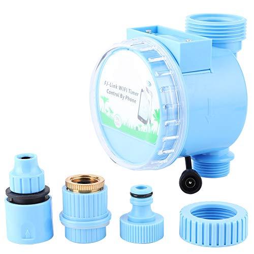 ROSEBEAR Bewässerungsregler Bewässerungsregler für Gartenrasenbalkon. (Blau)