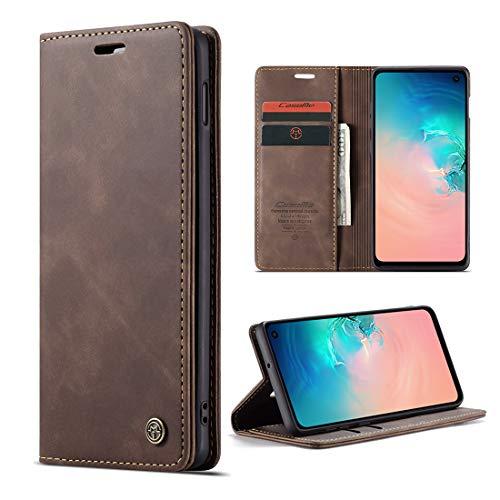 yanzi Cover per Samsung Galaxy S10E Cover Custodia in Pelle Samsung Galaxy S10E Cover a Libro Samsung S10E Magnetica Portafoglio Libro Flip Libretto per Samsung...
