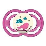 MAM Babyartikel, Chupete'Perfect Noche 16', color de rosa (Rosa)