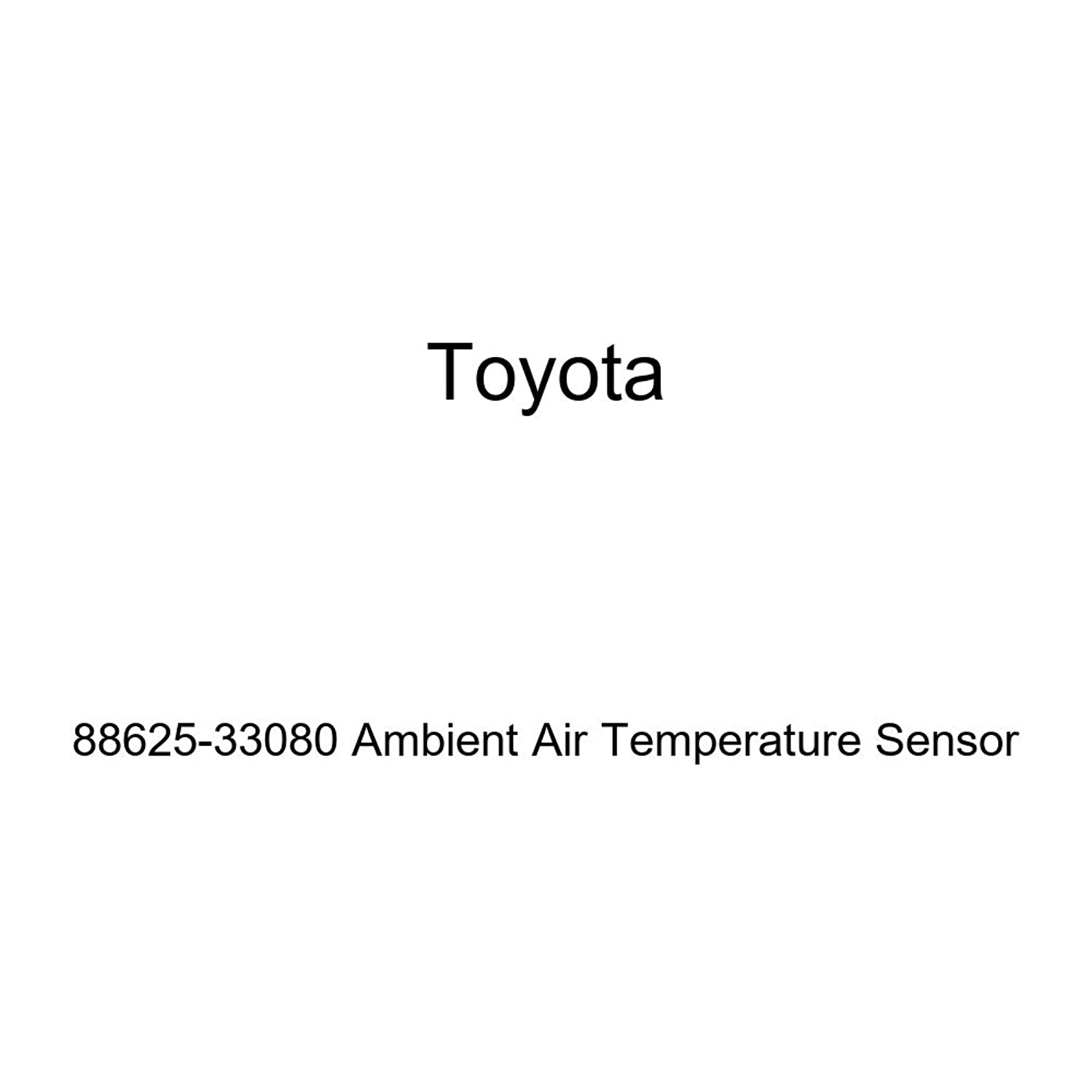 Toyota 88625-33080 Ambient Air Temperature Sensor