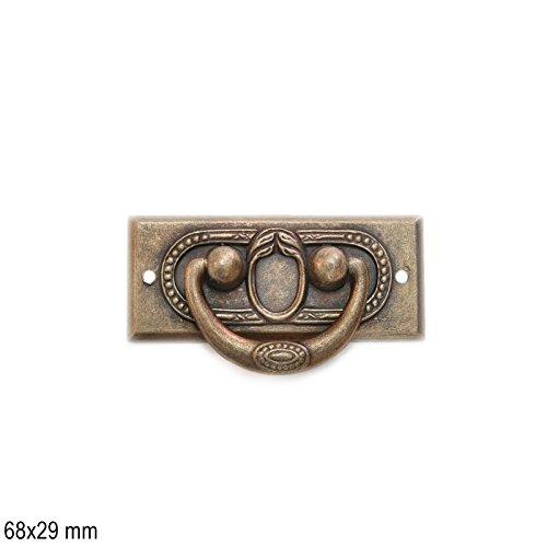 Antikmöbel Griff Schlüsselschild (2452)