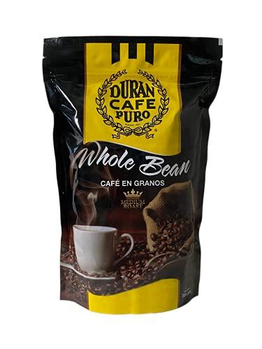 Cafe Duran - Whole Bean Medium Roast Coffee Freshly Imported from Panama 354g (12.5oz)