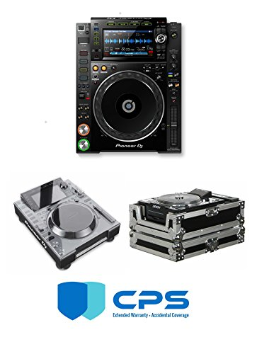 Review Of Pioneer DJ CDJ-2000 NXS2 PROtection Bundle With Odyssey FZCDJ, Decksaver Cover And 2 Yea...