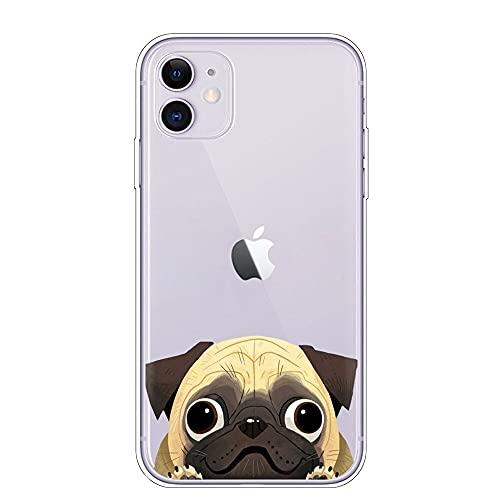 Bulldog Phone Case French Bulldog Phone Case for iPhone 6 7 8 11 12 Pro XS MAX XR X Mini Plus SE 2020 Soft Silicone Phone Cover 036