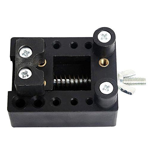 Dabixx Reparatieset voor horloges, instelbaar horloge terug val, houder Vice Tool polshorloge reparatieset