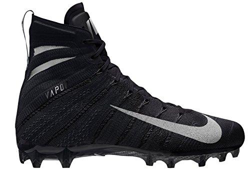 Nike Vapor Untouchable 3 Elite - Zapatillas de fútbol para Hombre, Negro (Black/Metallic Silver-Black-Black), 12,5 D(M) US